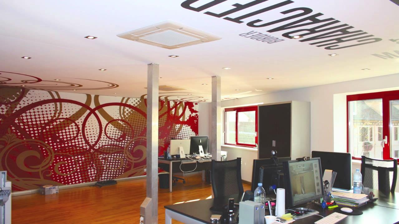 e8ef04e307ac Murs et plafonds tendus à froid - Farbe Design - Nord Luxembourg