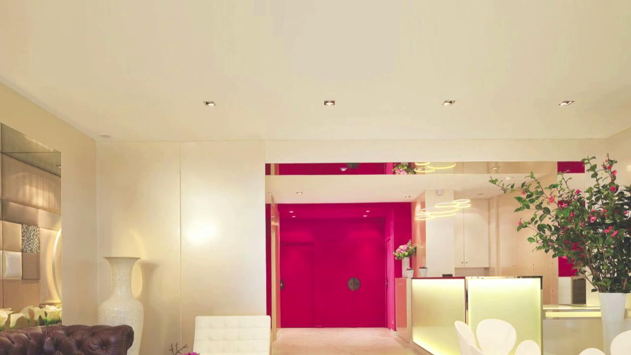 Innovatives Decken Design Restaurant: Wohnung