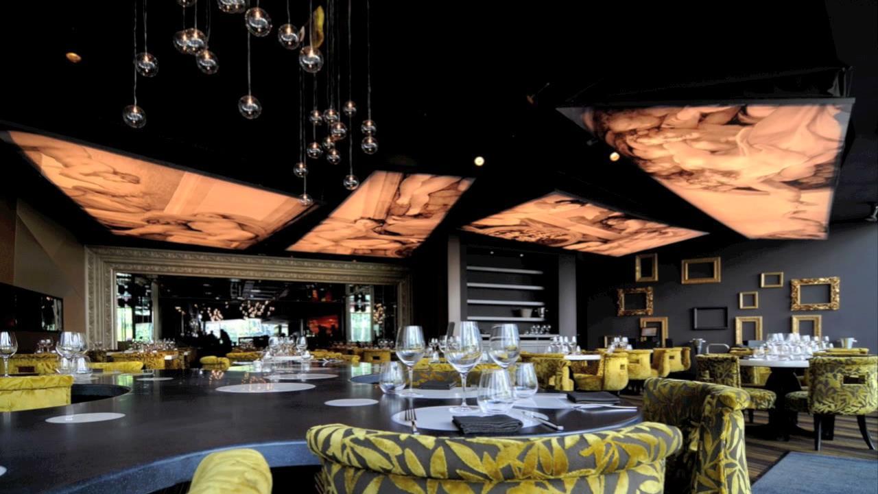Innovatives Decken Design Restaurant: Modern